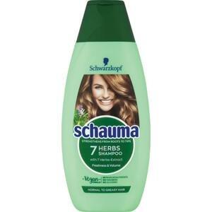 Schauma 7 Bylín šampón na normálne a mastné vlasy 400 ml