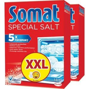 Somat soľ do umývačky riadu 2x1500 g