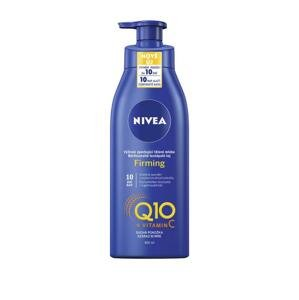 Nivea Q10 Plus Firming spevňujúce telové mlieko na suchú pokožku 400 ml