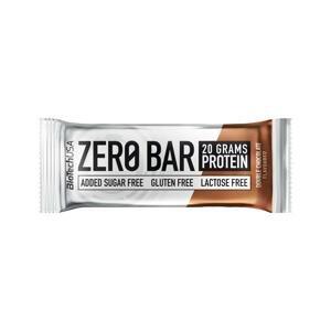 BioTech USA Zero bar 50g , dvojitá čokoláda