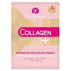 Dermacol Collagen pleťová maska proti vráskam 2 x 8 g