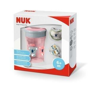 Nuk Set Magic Cup Space pre dievčatá ružový