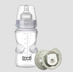Canpol babies Lovi by Samosterilizujúca dojčenská fľaša 250 ml