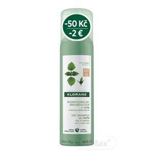 KLORANE SHAMP. SEC SÉBOR. à l'Ortie BRUNS (zľava) suchý šampón, seboregulačný so žihľavou, tmavé a mastné vlasy (-2 €) 1x150 ml