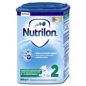 Nutrilon 2 6×800 g, následná mliečna dojčenská výživa v prášku (6-12 mesiacov)