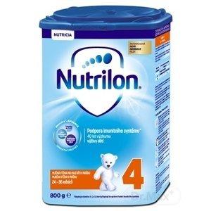 Nutrilon 4 6×800 g, mliečna výživa, od 24. mesiaca