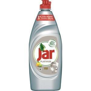Jar Platinum prostriedok na umývanie riadu Lemon & Lime 650 ml