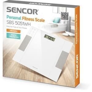SENCOR SBS 5051WH - Osobná fitness váha 1 kus