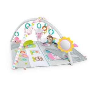 Bright Starts - Deka na hranie domček pre bábiky Floors of Fun 1 kus - 0m+
