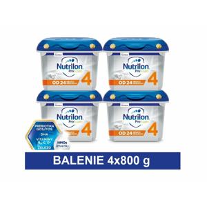 Nutrilon 4 ProFutura Nová batoľacia mliečna výživa v prášku (od 24 mesiacov) (inov.2019) 4x800 g