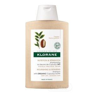 KLORANE SHAMPOOING AU BEURRE DE CUPUACU BIO šampón pre veľmi suché a poškodené vlasy 1x200 ml
