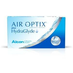 AIR OPTIX with HydraGlyde 6 kusov - mesačné