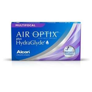 AIR OPTIX with HydraGlyde Multifocal 6 kusov - mesačné