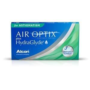 AIR OPTIX with HydraGlyde for Astigmatism 6 kusov - mesačné