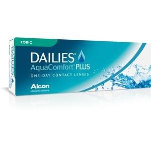DAILIES AquaComfort Plus Toric 30 kusov - jednodenné