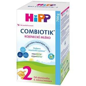 HiPP Následná mliečna dojčenská výživa HiPP 2 BIO Combiotik 700 g - od uk.6.mesiaca
