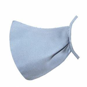 Antibakteriálne rúško so strieborným mikrovláknom 1 kus - viacnásobne použitelné, textilné / sivé