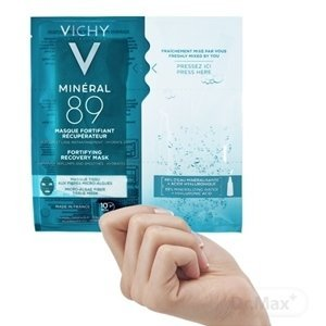 VICHY MINERAL 89 Hyaluron Booster pleťová maska 1x29 g