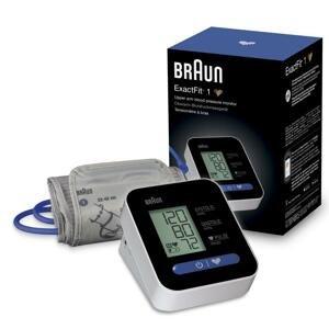 BRAUN EXACTFIT 1 BUA 5000 ramenný tlakomer 1x1 kus, tlakomer