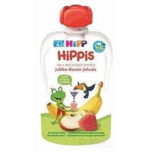 HIPP iS BIO 100% ovocia jablko Banán jahoda 100 g