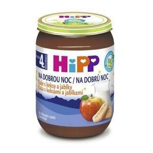 Hipp Kaša na dobrú noc BIO s keksíkmi a jablkami 190g