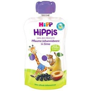 HiPP BIO 100% ovocie Hruška-Čierné ríbezle-Slivka 100 g