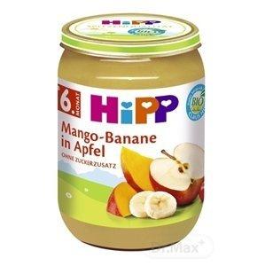 HiPP BIO Jablká s mangom a banánmi 190 g