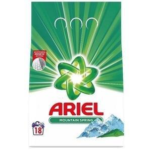 Ariel Mountain Spring prací prášok pre čisté a voňavé bielizeň bez škvŕn 18 PD 1,35 kg