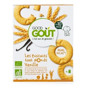 Good Gout BIO Vanilkové kolieska (od ukonč. 10. mesiaca) 1x80 g