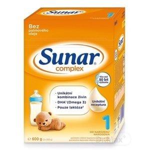 Sunar Complex 1 počiatočná mliečna výživa (od narodenia) (inov.2020) 1x600 g