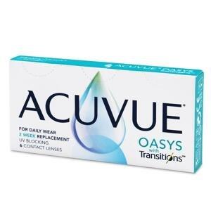 Acuvue Oasys with Transitions 6 kusov - 8,4 mm / dvojtýždňové