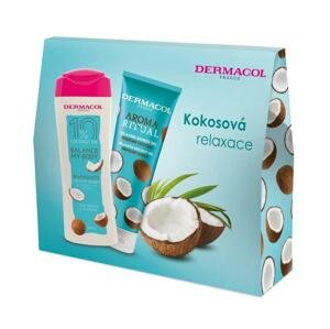 DERMACOL Aroma Ritual SG Brazílsky kokos + Telové mlieko 1 set - darčekový balíček