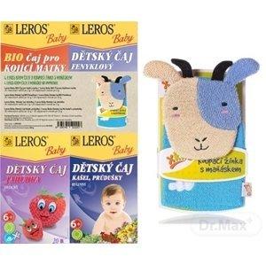 LEROS BABY BIO dětské čaje mi x +žínka 4 x 20ks