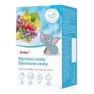 Dr.Max Dýchacie cesty detská bylinná čajová zmes, nálevové vrecúška (inov. 2020) 20x1,5 g (30 g)