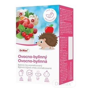 Dr.Max Ovocno-bylinný detská čajová zmes aromatizovaná, nálevové vrecúška 20x1,5 g (30 g)