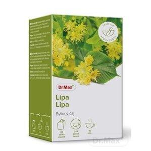 Dr.Max Lipa 1×30 g, bylinný čaj, v nálevových vrecúčkach 20×1,5 g