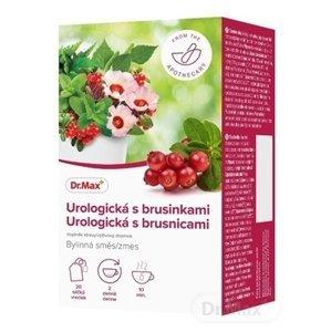 Dr.Max Urologická bylinná zmes s brusnicami nálevové vrecúška (inov. 2020) 20x1,5 g (30 g)