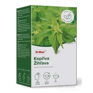 Dr.Max Žihľava bylinný čaj, v nálevových vrecúškach (inov. 2020) 20x1,5 g (30 g)