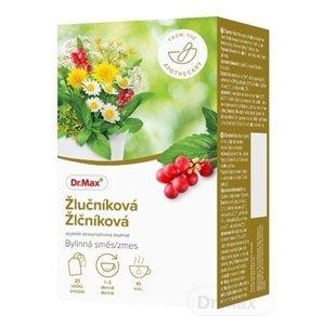 Dr.Max Žlčníková bylinná zmes 1×30 g, nálevové vrecúška 20×1,5 g