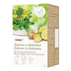 Dr.Max Zázvor s citrónom bylinná čajová zmes, nálevové vrecúška 20x1,5 g (30 g)