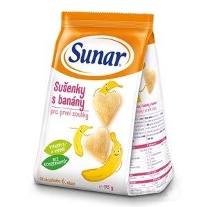 Sunar Sušienky s banánmi (od ukonč. 6. mesiaca) 1x175 g