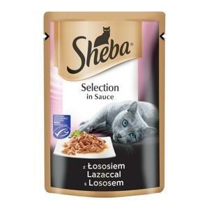 Sheba Selection in Sauce s lososem 85 g