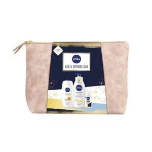 Nivea Q10 & Vitamin Care telové mlieko 400 ml + sprchový gél 250 ml + dezodorant roll-on 50 ml + etue darčeková sada