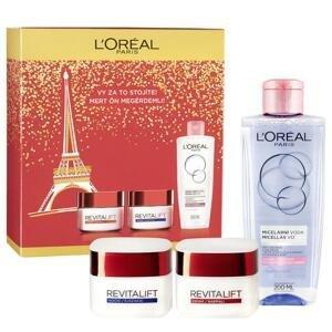 L´Oréal Paris Revitalift denný krém 50 ml + nočný krém 50 ml + micelárna voda 200 ml darčeková sada