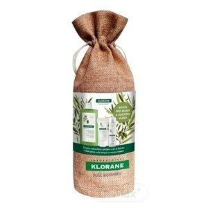 KLORANE XMASS OLIVIER rituál omladenie a hustota vlasov (šampón 400 ml + balzam 50 ml + suchý šampón 50 ml) 1x1 set