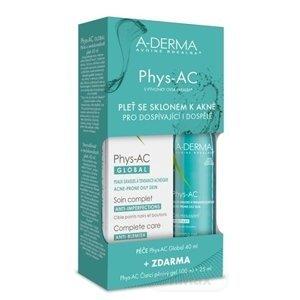 A-Derma Phys-AC Global kompletná starostlivosť pre problematickú pleť akné Severe Blemish Care 40 ml