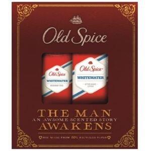 Old Spice White Water voda po holení 100 ml + deostick 50 ml pre mužov darčeková sada