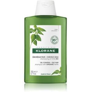 KLORANE SHAMPOOING à l'Ortie BIO šampón s bio žihľavou, mastné vlasy 1x200 ml