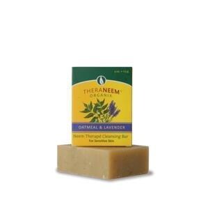 Nimbové mydlo s ovsom a levandulovým olejom Organix 113g