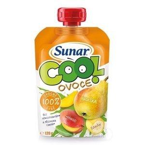 Sunárek Sunar EK Cool ovocie hruška Mango Banán Sunárek cool ovocie 120 g
